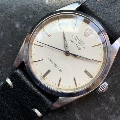 Rolex Men S Oyster Perpetual Air King 5500 Automatic C 1967 Swiss Vintage Lv760