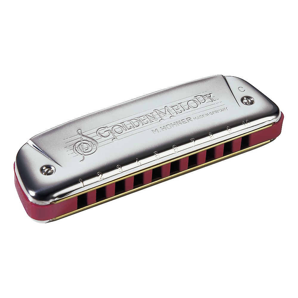 Hohner 542 Golden Melody Harmonica F# by Hohner