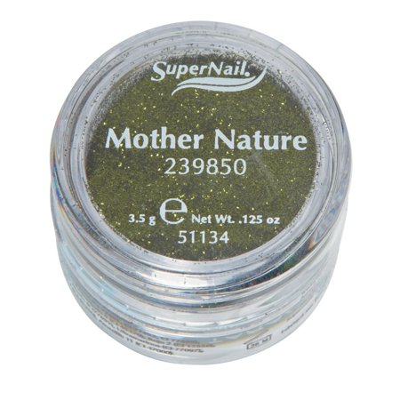 Supernail Glitter Mother Nature (Green Glitter) 0.125oz 3.5g