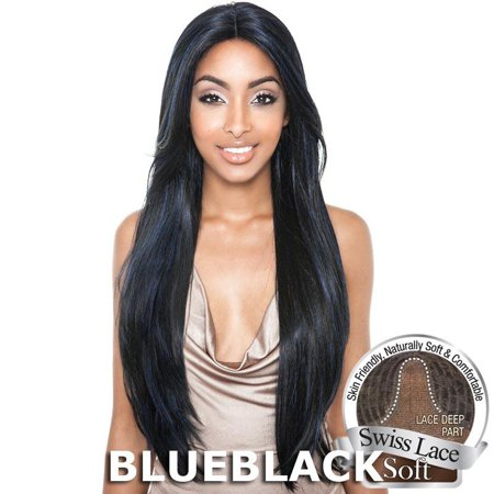 Brown Sugar Human Hair Blend Soft Swiss Lace Wig - BS216