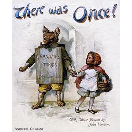 There was once. Grandma's stories: Little Red Riding Hood, Puss in Boots, Cinderella, The three bears, Children in the wood (Ballad) - eBook (Puss In Boots Costume Adult)