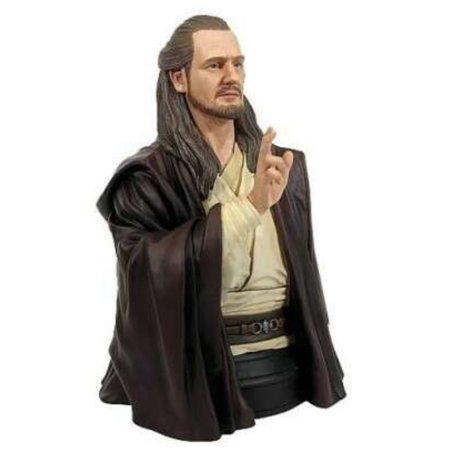 - Star Wars Gentle Giant Qui-Gon Jinn Mini-Bust