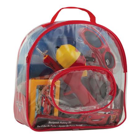 Shakespeare Youth Fishing Kits Disney Crds, Backpack - Toy Fishing Pole