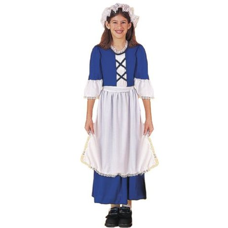 Forum Novelties Colonial Girl Costume, Child's Large](Novelty Costume)
