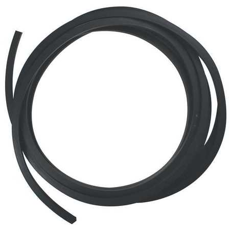 E CSNEO-1//4-25 Black JAMES Rubber Cord,Neoprene,1//4 In Dia,25 Ft