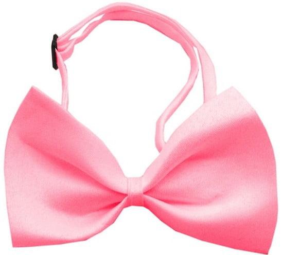 Image of Mirage 48-26 BBGM Plain Bubblegum Pink Dog Bow Tie