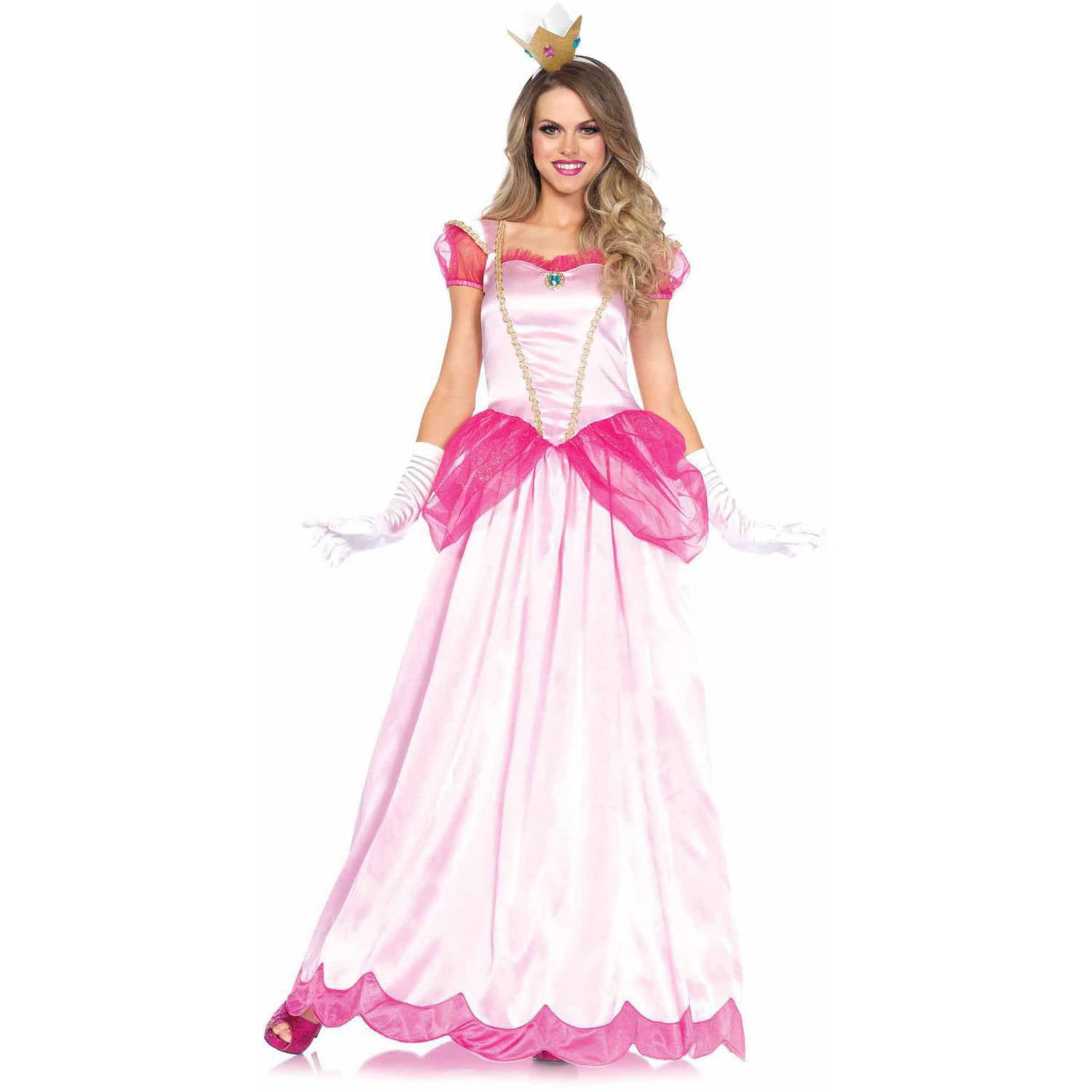 Leg Avenue 2-Piece Classic Pink Princess Adult Halloween Costume - Walmart.com  sc 1 st  Walmart & Leg Avenue 2-Piece Classic Pink Princess Adult Halloween Costume ...