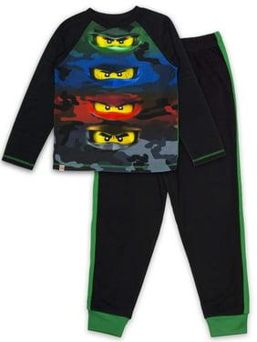 Lego Ninjago Boys 2 Piece Pajama Set(Little Boys & Big Boys)