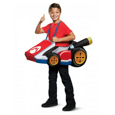 Mario Kart Child Costume - Mario Kart Princess Peach Costume