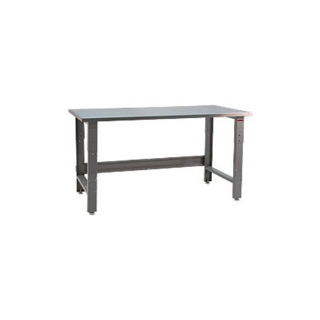 bench pro roosevelt 1600 lb workbench with stainless steel top. Black Bedroom Furniture Sets. Home Design Ideas