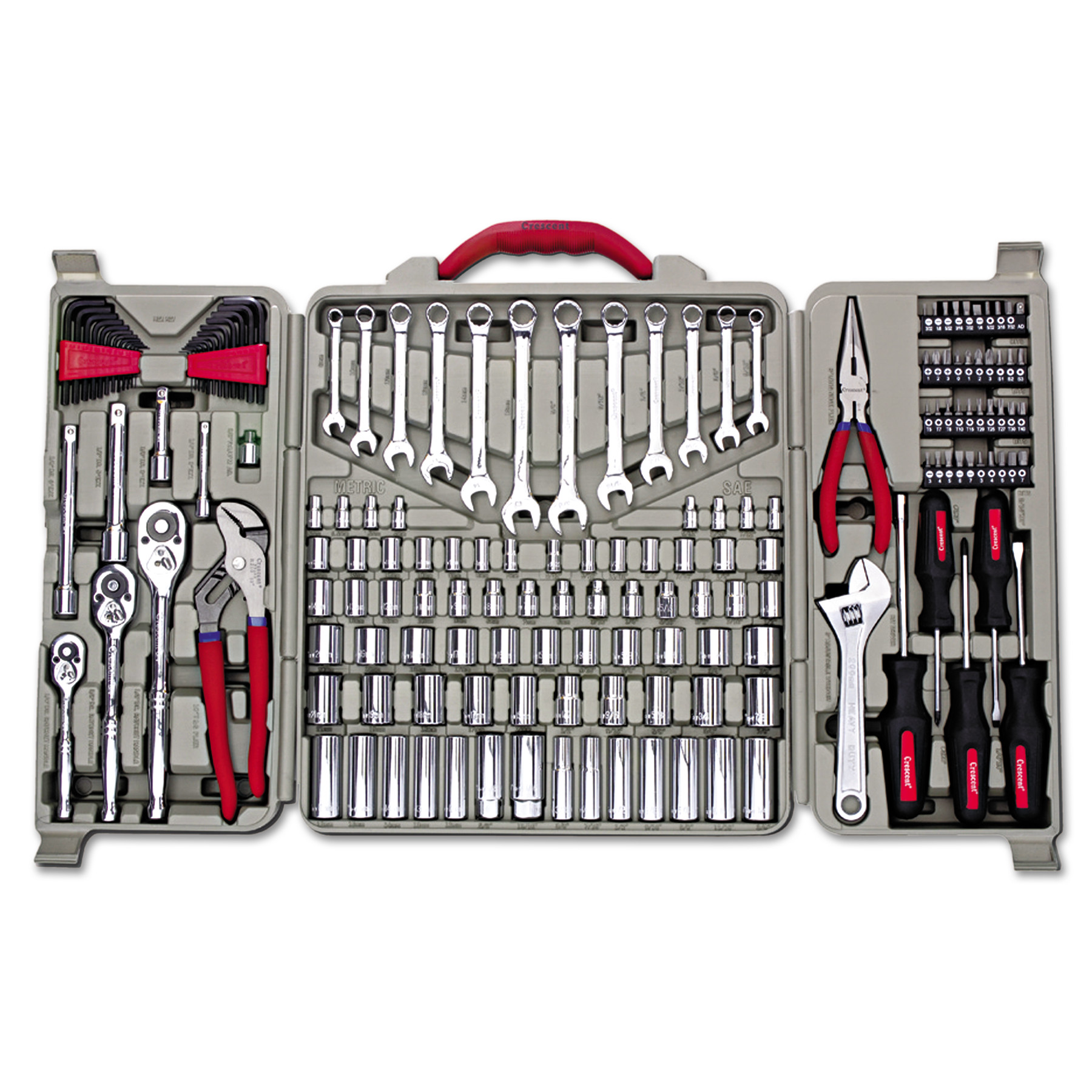 Crescent 170-Piece Professional Tool Set by Apex Tool Group