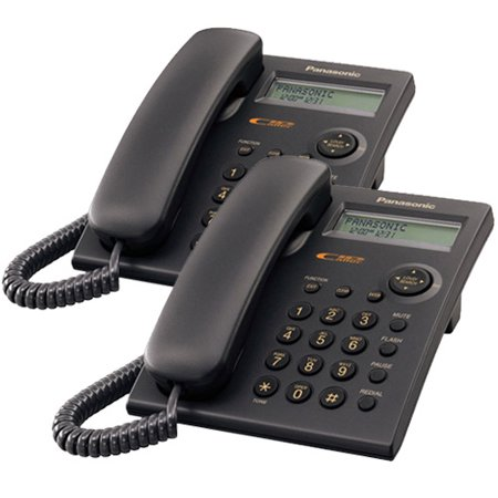 Panasonic KX-TSC11B Wall Mountable Corded Telephone With Caller
