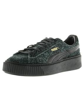 1ed550f1f9bc Product Image Puma Women s Platform Elemental Suede Black   Ankle-High  Fashion Sneaker - 6M