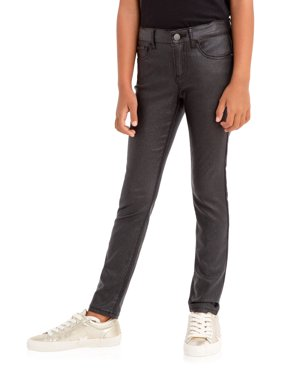 Jordache Black Glitter Skinny Jean (Little Girls, Big Girls & Plus)