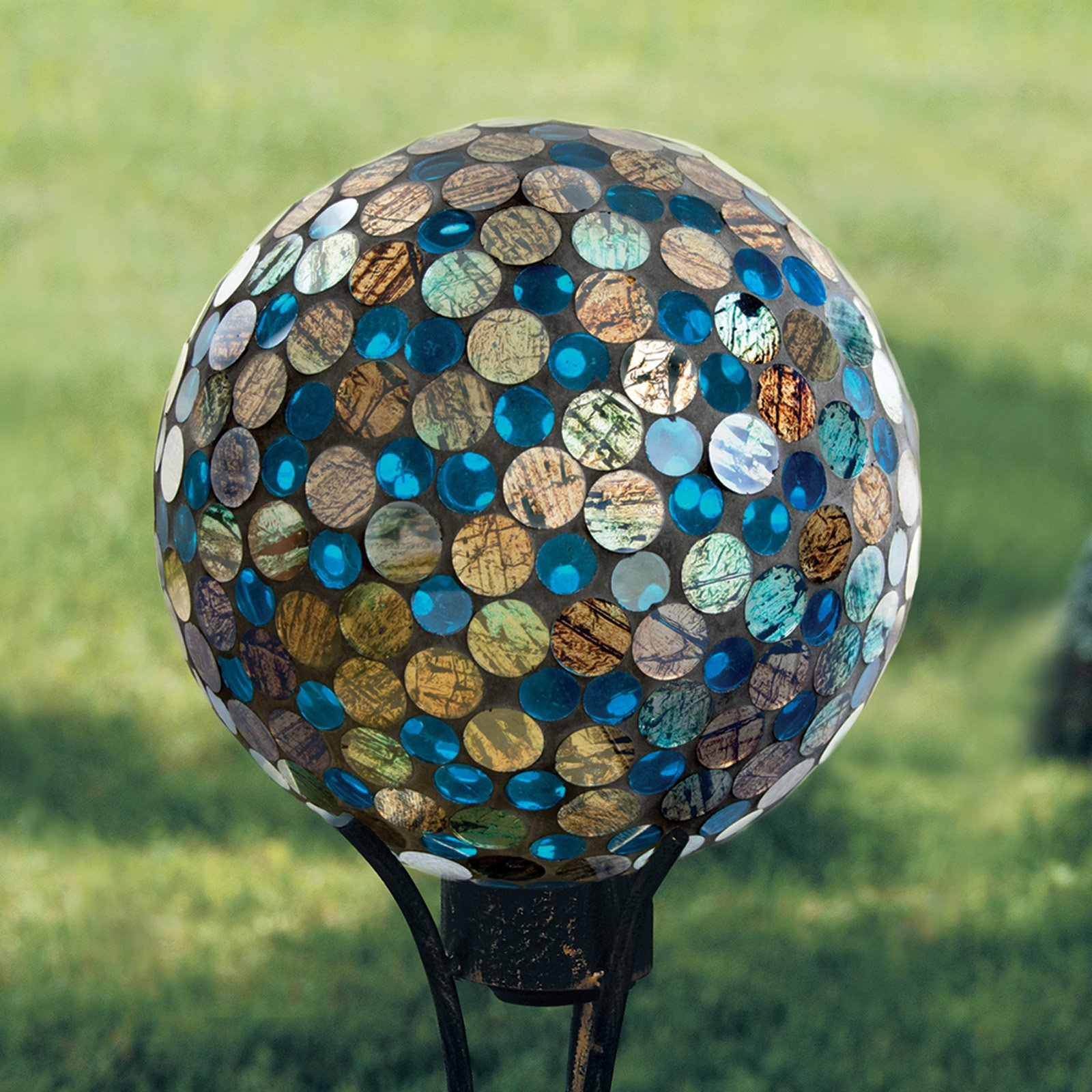 Carson Home Accents Copper Ocean Gazing Ball by Carson's