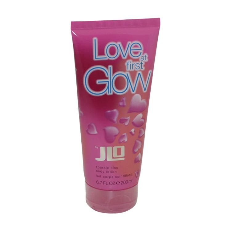 Love At First Glow Sparkle Kiss Body Lotion 6.7 Oz / 200 Ml for Women by Jennifer Lopez