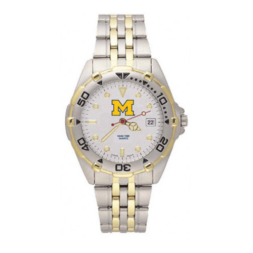 NCAA - Michigan Wolverines Men's All Star Bracelet Watch