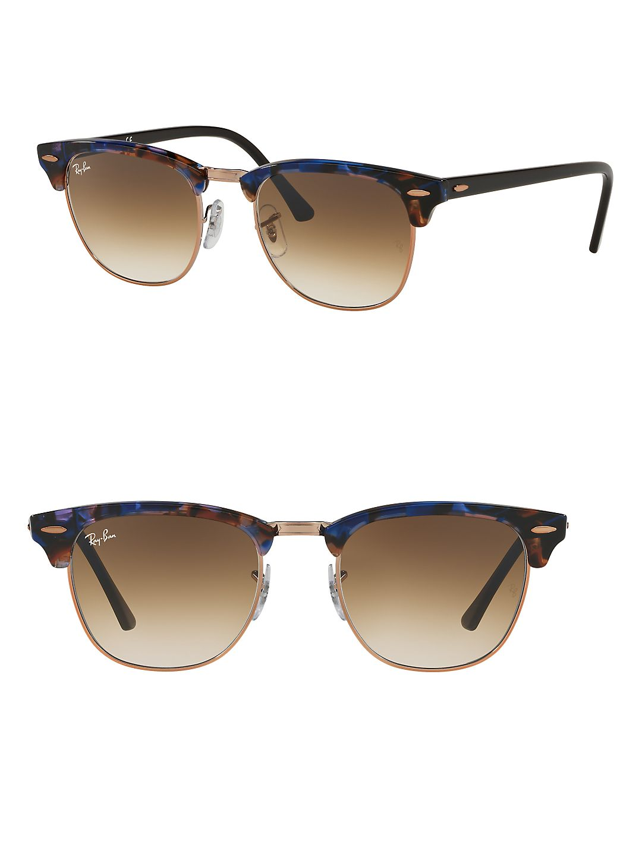 a13f1149a1 ... australia product image 49mm clubmaster square sunglasses. ray ban  b633f 606fa