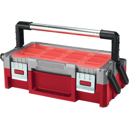 "Keter 18"" Cantilever Toolbox, Red"