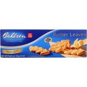 Bahlsen Cookies - Butter Leaves - 4.4 Oz - Pack of 12