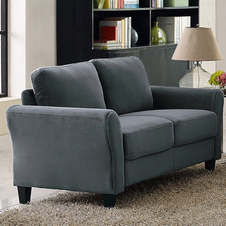Lifestyle Solutions Warren Loveseat with Rolled Arm ()