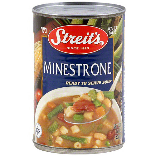 Streit's Minestrone Soup, 15 oz (Pack of 6)