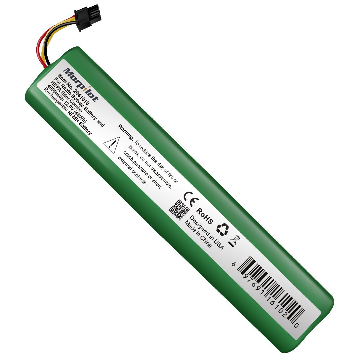 keenstone 12V 4500mAh Replacement Battery for Neato Botvac Series and Botvac D Series Neato Botvac Battery 70e, 75, 80, D75, D80, Botvac D85 Neato Robot Vacuum Cleaner Batteries