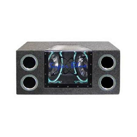 Pyramid Dual 10 1000 Watt Bandp Speaker System W Neon Accent Lighting