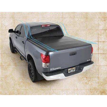 Smittybilt Smart Cover Truck Bed Cover 07-12 Toyota Tundra 66.7 Inch Vinyl Black (Truck Accessories Toyota Tundra)