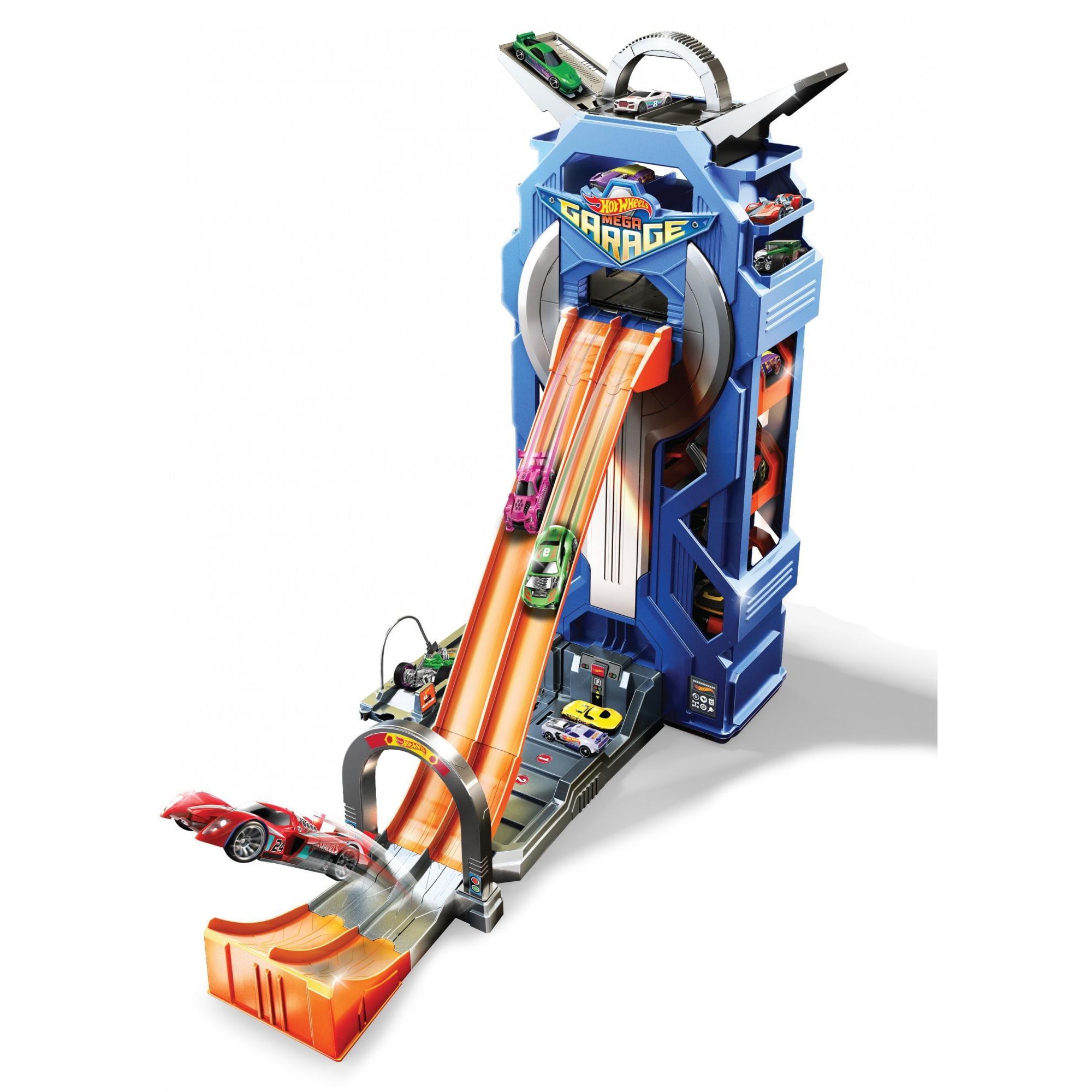 15d5fb5e55966 Hot Wheels Mega Garage Playset - Walmart.com