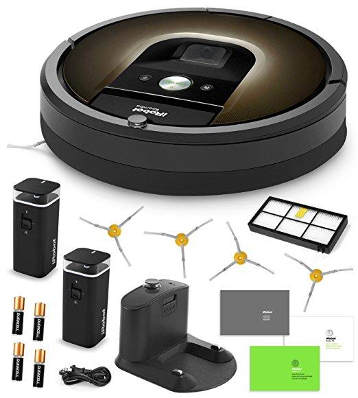 iRobot Roomba 980 Vacuum Cleaning Robot + 2 Dual Mode Vir...