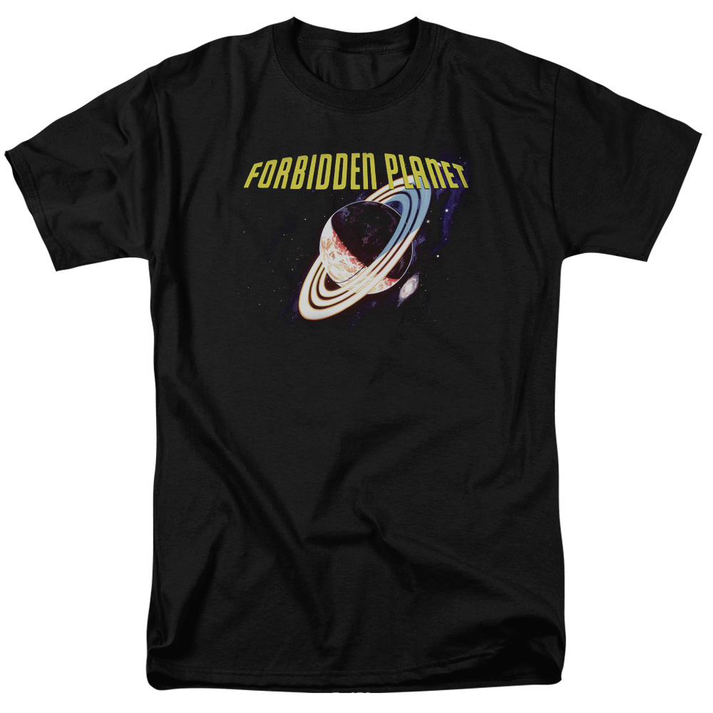 Forbidden Planet Planet Mens Short Sleeve Shirt