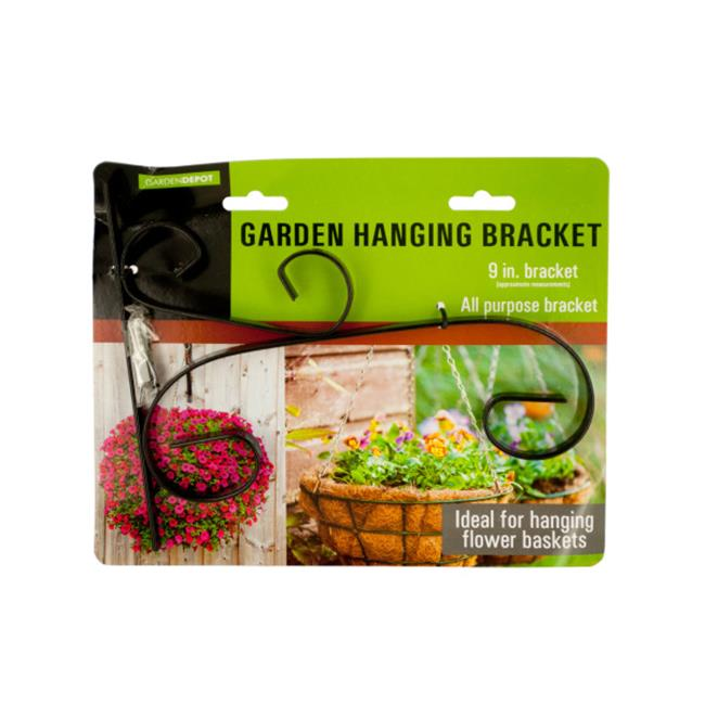Bulk Buys MT658-48 Decorative Metal Garden Hanging Bracket, 48 Piece