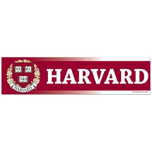 Harvard Crimson NCAA Decal Sticker Car Truck Window Bumper Laptop Wall