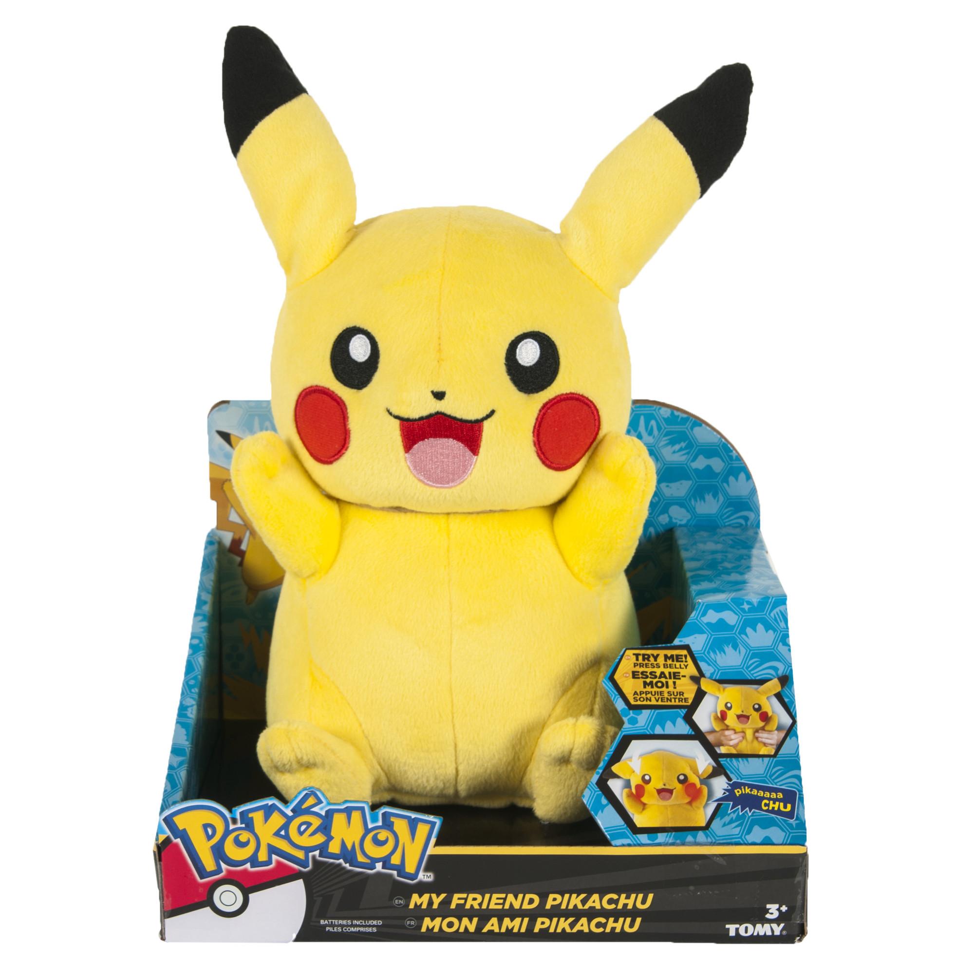 TAKARATOMY Punitto Friend Unwind Time Pokemon Pikachu Moving toys