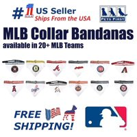 Pets First MLB Arizona Diamondbacks Dogs and Cats Collar Bandana - Medium