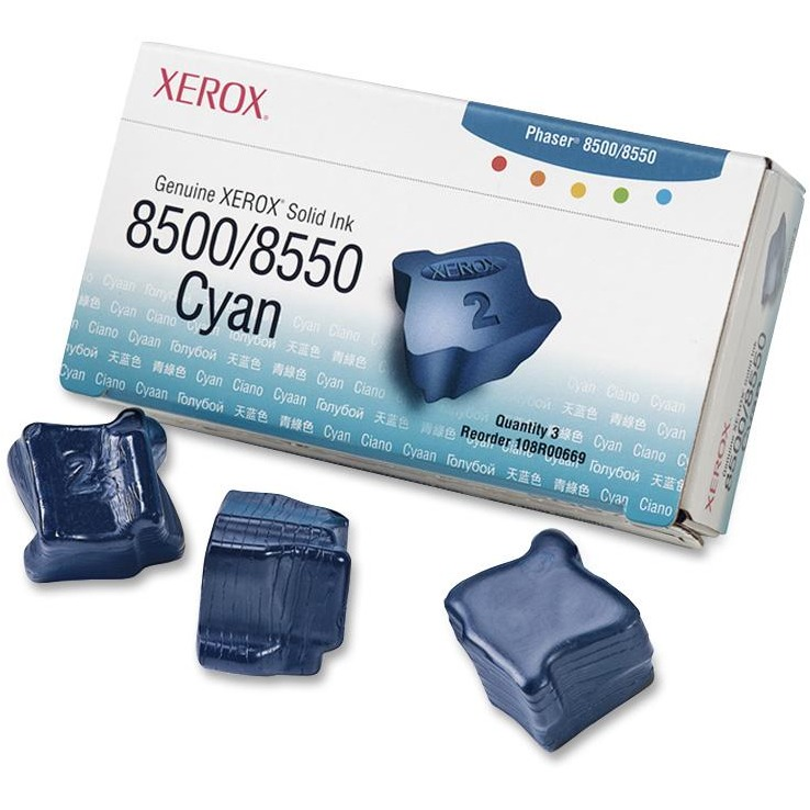 Xerox, XER108R00669, 108R00669/70/71/72 Solid Ink Sticks
