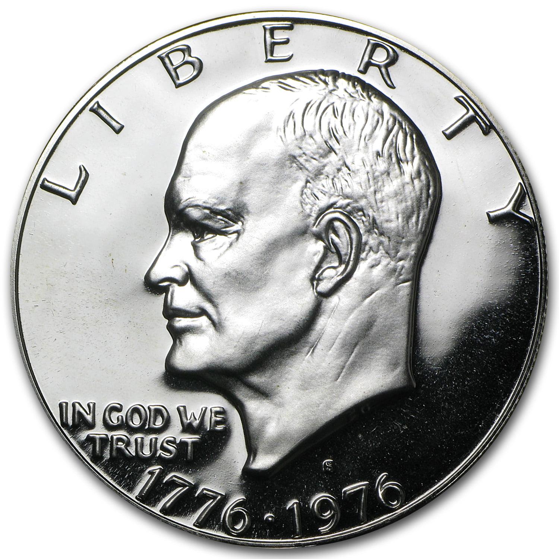 1976 Eisenhower S Dollar Proof 40/% Silver