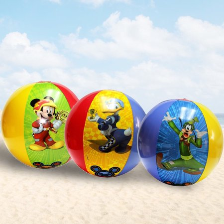 Disney Mickey Halloween Party Tickets (3 pcs Disney Mickey Mouse & Friends Inflatable Beach Ball party)