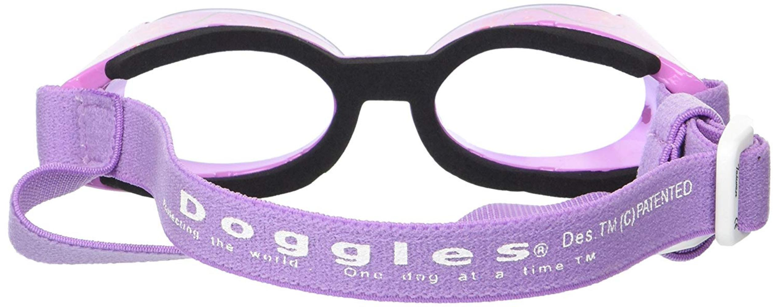 ILS Small Lilac Flower Frame with Purple Lens Dog Goggles ... 6e4526bffa