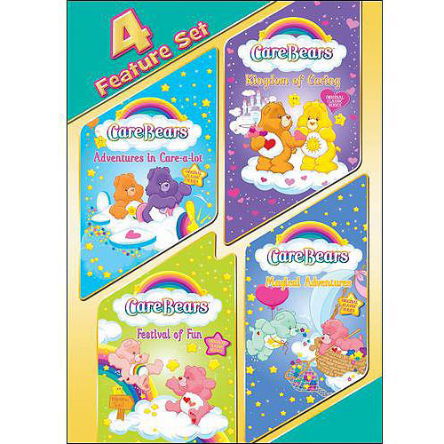 Care Bears: 4 Feature Set Adventures In Care-A-Lot   Kingdom Of Caring   Festival Of Fun   Magical Adventures... by Trimark Home Video