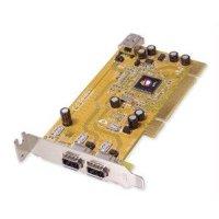 Siig, Inc. Firewire Adapter - Plug-in Card - Low Profile - Pci - Ieee 1394 Firewire