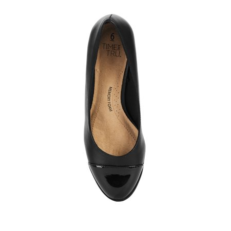 Women's Time and Tru Dress Wedge