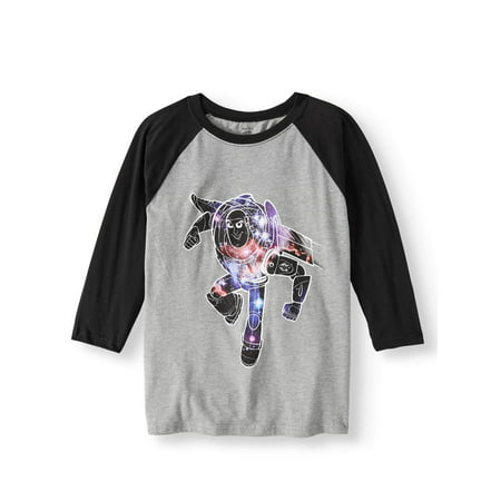 Toy Story Long Sleeve Raglan Graphic Tee (Little Boys)