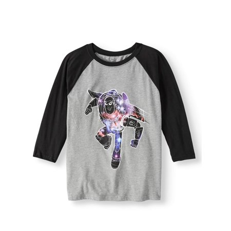 Long Sleeve Raglan Graphic Tee (Little Boys)