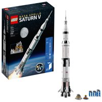 Deals on LEGO Ideas Nasa Apollo Saturn V 21309 Building Kit 1969 Piece
