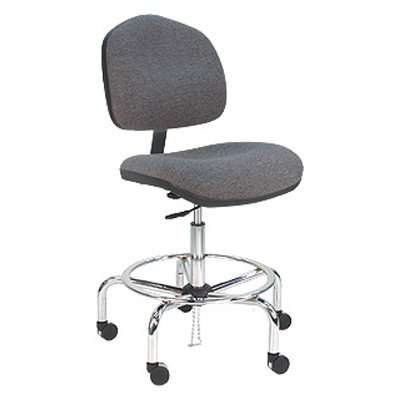 Bench Pro Deluxe Ergonomic ESD Anti Static Fabric Wide Chair