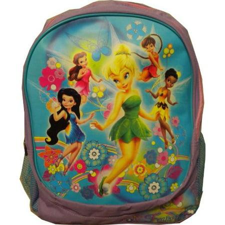 Backpack - Disney - Fairies Tinkerbell & Friends Purple New (Disney Fairies Tinkerbell Backpack)
