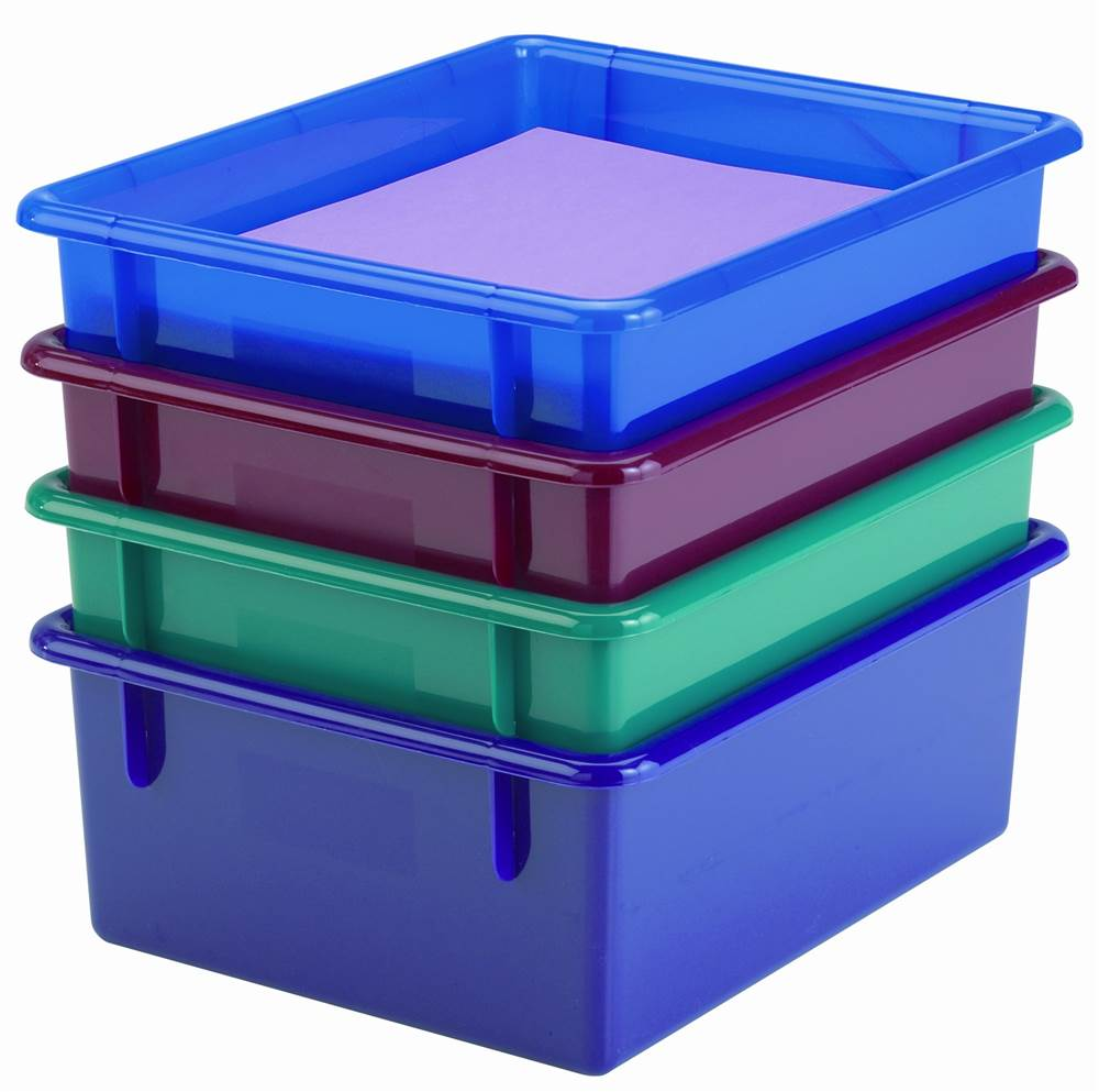 Jonti Craft Dishpan Size Storage Tub (Red)