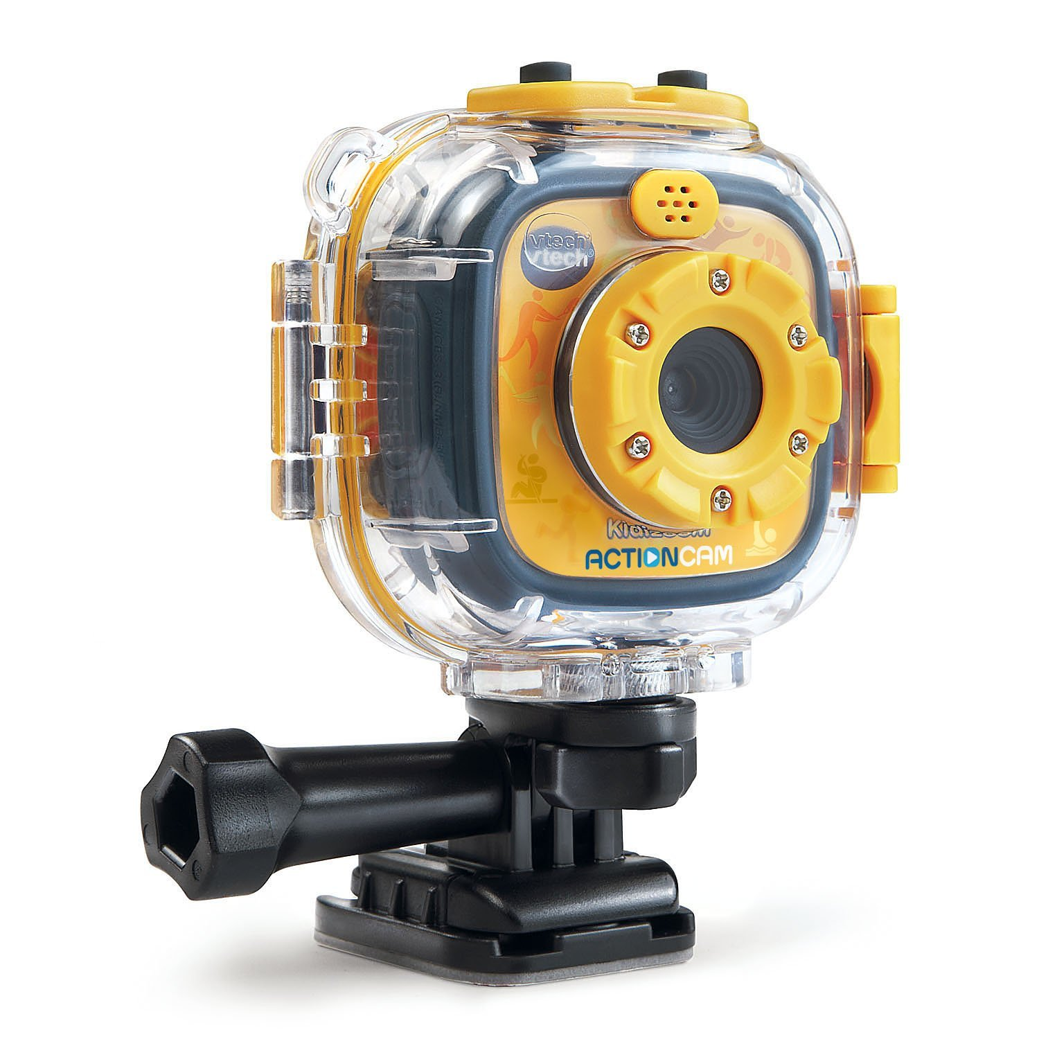 VTech Kidizoom Action Cam, Yellow Black by